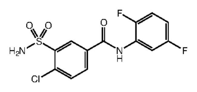 Alfa Aesar™4-Chloro-N-(2,5-difluorophenyl)-3-sulfamoylbenzamide, 95% 1g products