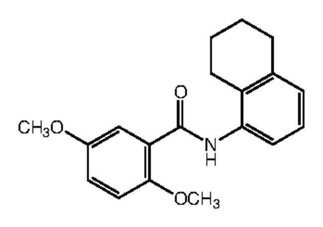 Alfa Aesar™3,4-Dimethoxy-N-(5,6,7,8-tetrahydro-1-naphthyl)benzamide, 95% 250mg products