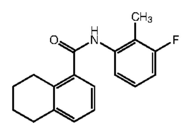 Alfa Aesar™N-(3-Fluoro-2-methylphenyl)-5,6,7,8-tetrahydronaphthalene-1-carboxamide, 95% 250mg Ver productos