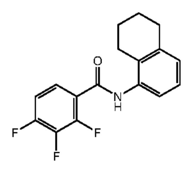 Alfa Aesar™ 2,3,4-Trifluoro-N-(5,6,7,8-tetrahydro-1-naphthyl)benzamide, 95% 1g Products
