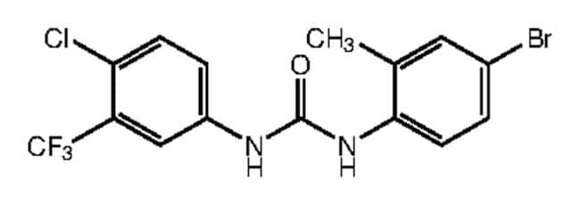 1-(4-Bromo-2-methylphenyl)-3-[4-chloro-3-(trifluoromethyl)phenyl]urea, 97%, Alfa Aesar™ 1g Ver productos