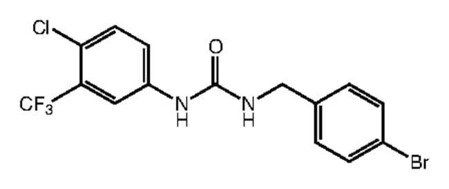 1-(4-Bromobenzyl)-3-[4-chloro-3-(trifluoromethyl)phenyl]urea, 97%, Alfa Aesar™ 250mg products