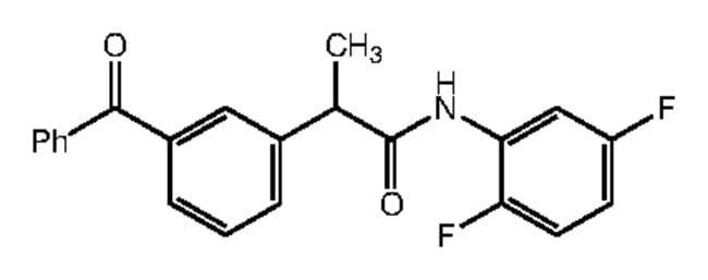 Alfa Aesar™2-(3-Benzoylphenyl)-N-(2,5-difluorophenyl)propionamide, 95% 1g Products