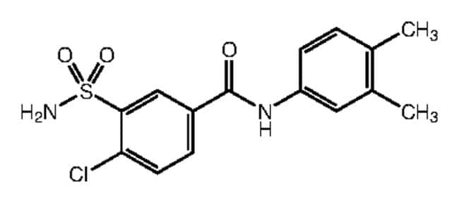 Alfa Aesar™4-Chloro-N-(3,4-dimethylphenyl)-3-sulfamoylbenzamide, 95% 1g products
