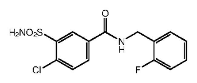 Alfa Aesar™4-Chloro-N-(2-fluorobenzyl)-3-sulfamoylbenzamide, 95% 250mg products
