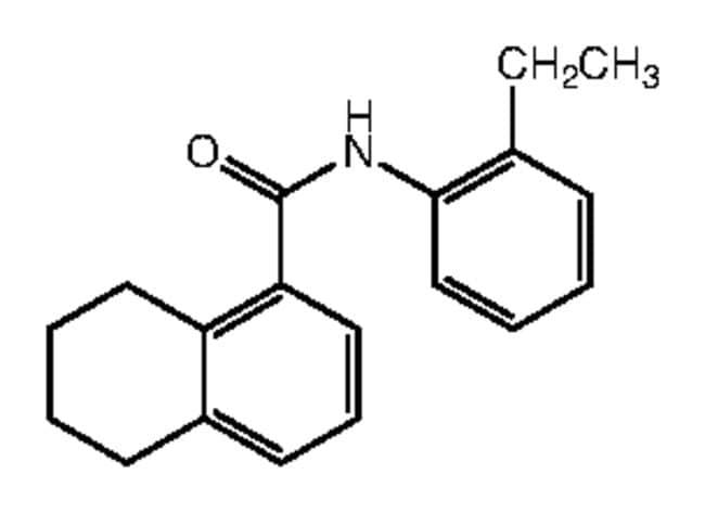 Alfa Aesar™N-(2-Ethylphenyl)-5,6,7,8-tetrahydronaphthalene-1-carboxamide, 95% 250mg Ver productos