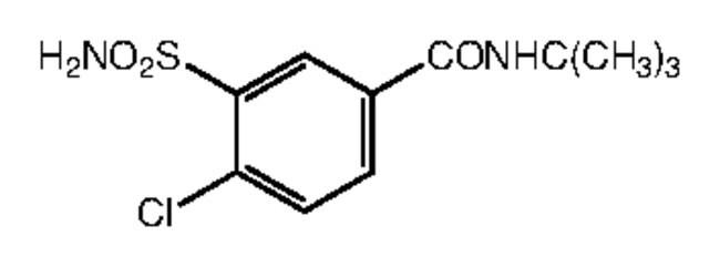 Alfa Aesar™N-tert-Butyl-4-chloro-3-sulfamoylbenzamide, 95% 250mg Products