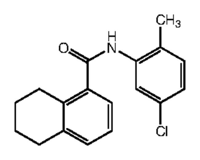 Alfa Aesar™N-(5-Chloro-2-methylphenyl)-5,6,7,8-tetrahydronaphthalene-1-carboxamide, 95% 1g Ver productos
