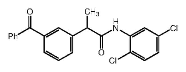 Alfa Aesar™2-(3-Benzoylphenyl)-N-(2,5-dichlorophenyl)propionamide, 95% 250mg Ver productos