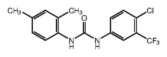 1-[4-Chloro-3-(trifluoromethyl)phenyl]-3-(2,4-dimethylphenyl)urea, 97%, Alfa Aesar™ 1g Products