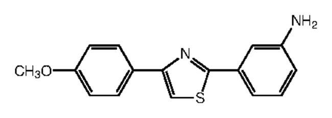 Alfa Aesar™2-(3-Aminophenyl)-4-(4-methoxyphenyl)thiazole, 97% 1g Alfa Aesar™2-(3-Aminophenyl)-4-(4-methoxyphenyl)thiazole, 97%