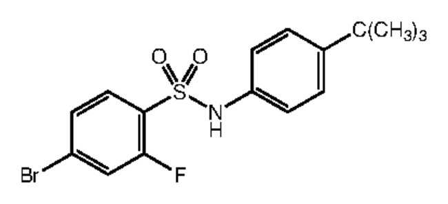 Alfa Aesar™4-Bromo-N-(4-tert-butylphenyl)-2-fluorobenzenesulfonamide, 97% 250mg Ver productos