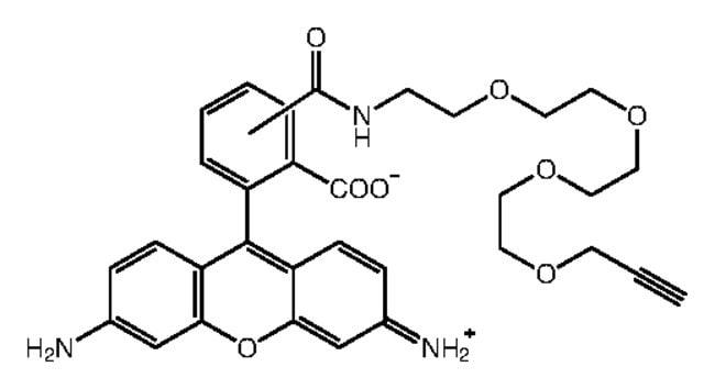 Alfa Aesar™Acetylene-PEG4-carboxyrhodamine 110 conjugate 5mg Alfa Aesar™Acetylene-PEG4-carboxyrhodamine 110 conjugate