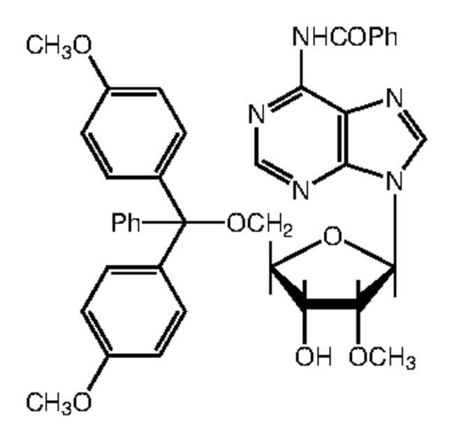 N6-Benzoyl-5'-O-(4,4'-dimethoxytrityl)-2'-O-methyladenosine, 98%