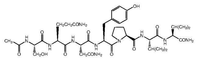 Alfa Aesar™N-Acetyl-Ser-Gln-Asn-Tyr-Pro-Val-Val-NH_2