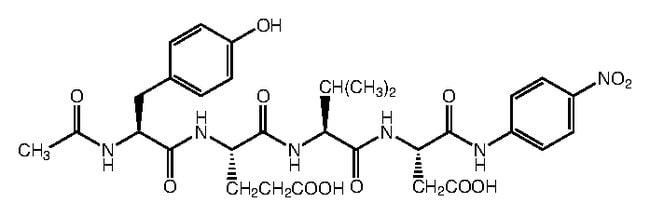 Alfa Aesar™N-Acetyl-Tyr-Glu-Val-Asp-p-nitroanilide 10mg Alfa Aesar™N-Acetyl-Tyr-Glu-Val-Asp-p-nitroanilide