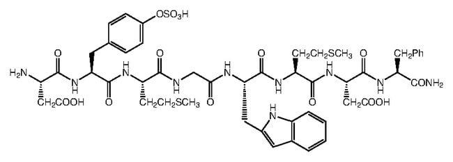 Alfa Aesar™Cholecystokinin, CCK-Octapeptid (26-33) 1mg Alfa Aesar™Cholecystokinin, CCK-Octapeptid (26-33)