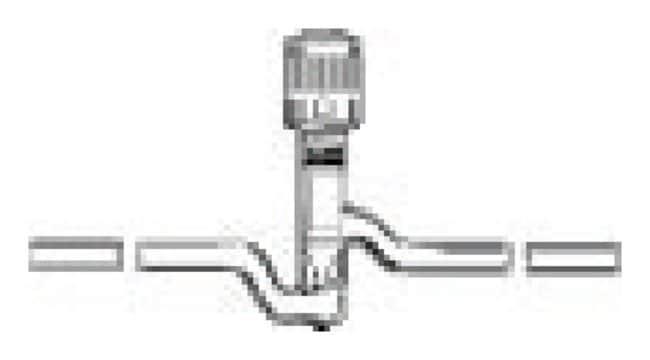 DWK Life Sciences Kimble Kontes Straight without Tip-O-Ring PTFE Plug HI-VAC