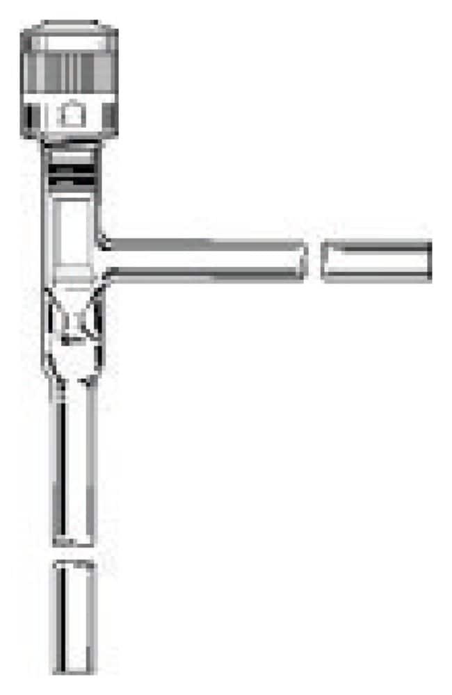 DWK Life SciencesKimble™ Kontes™ Right Angle without Tip O-Ring PTFE Plug HI-VAC Valves 0-4mm bore range; 9mm stem O.D.; 010 o-ring size shaft DWK Life SciencesKimble™ Kontes™ Right Angle without Tip O-Ring PTFE Plug HI-VAC Valves