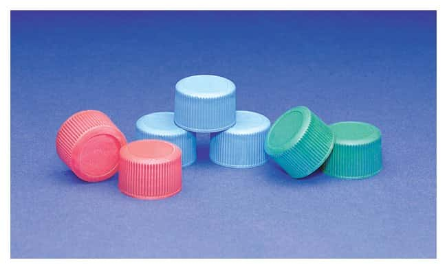 DWK Life Sciences Wheaton™ Blue Starline Polypropylene Caps for Narrow-Mouth Containers