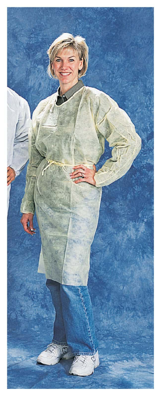 TiansPolypropylene Isolation Gowns:Personal Protective Equipment:Safety