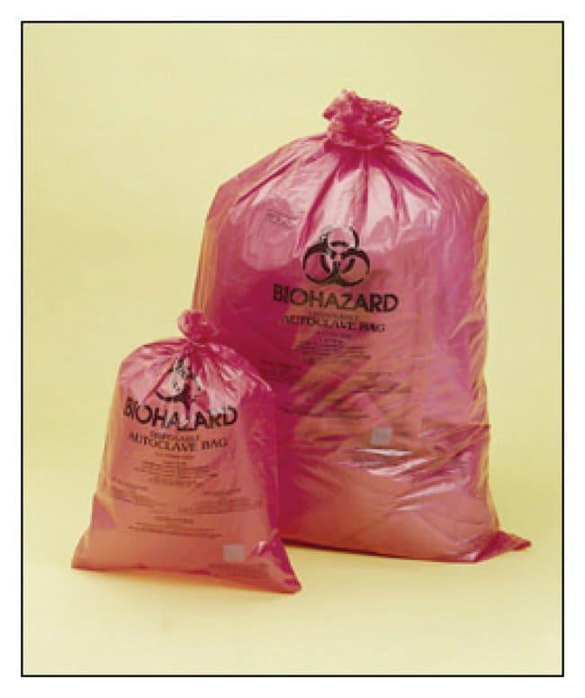 Bel-Art™SP Scienceware™ 1.5 mil Thick Biohazard Disposal Bags 97W x 122cm H; Capacity: 40 to 55 gal.; 100/Pack Bel-Art™SP Scienceware™ 1.5 mil Thick Biohazard Disposal Bags
