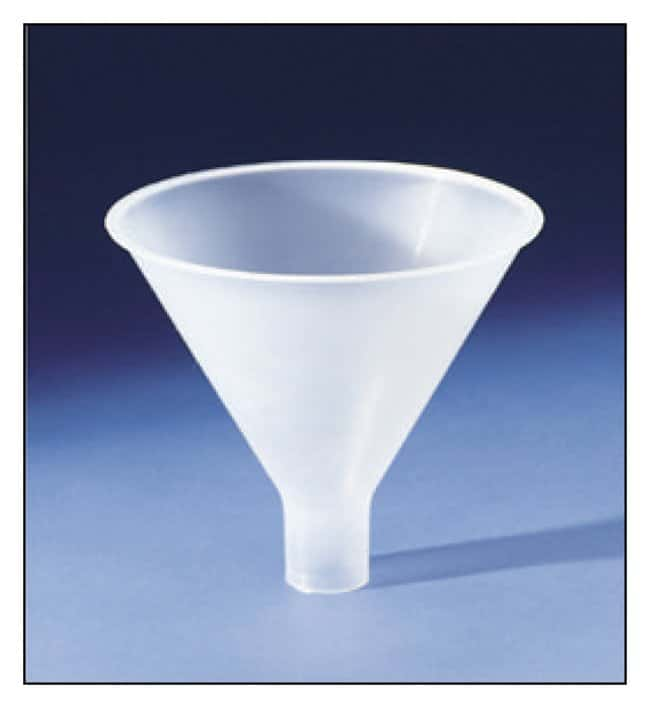 Bel-Art SP Scienceware Polypropylene Powder Funnels Capacity: 4.7 oz. (138mL):Beakers,