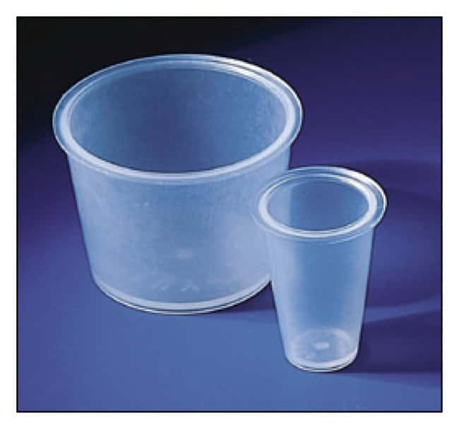 Bel-Art SP Scienceware Cup-Type Stoppers Size No. 6; 32mm top; 26mm bottom;