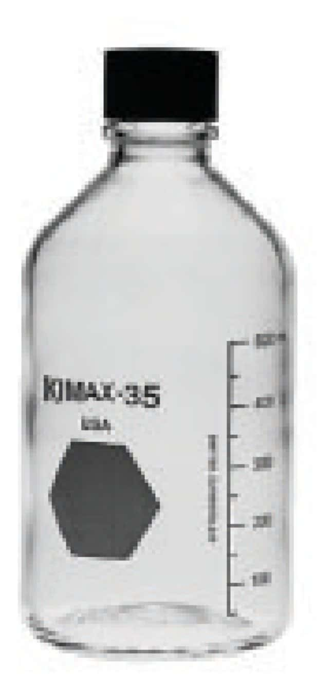 DWK Life Sciences Kimble™ Kontes™ Media/Storage KG-35 Borosilicate Glass, Polypropylene Cap