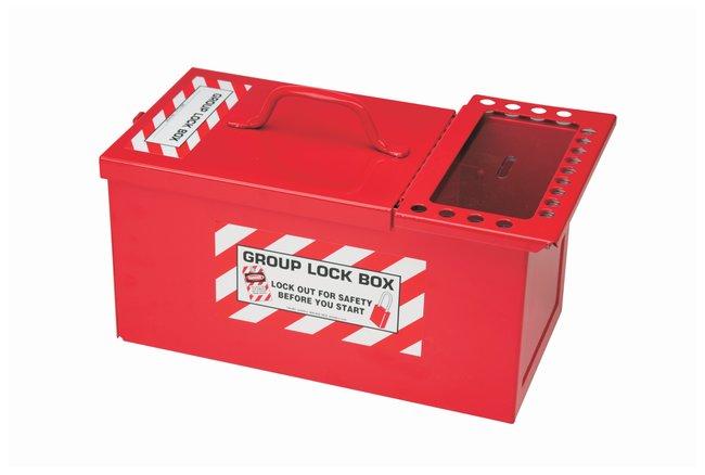 Brady Steel Combined Lock Storage and Group Lock Box Powder-coated steel;