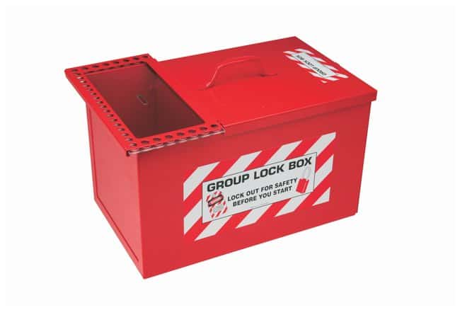 Brady Steel Combined Lock Storage and Group Lock Box:Gloves, Glasses and
