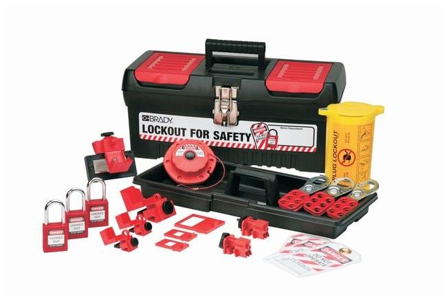 Brady Personal Electrical Lockout Kit w/ Keyed-Alike Safety Padlocks Personal
