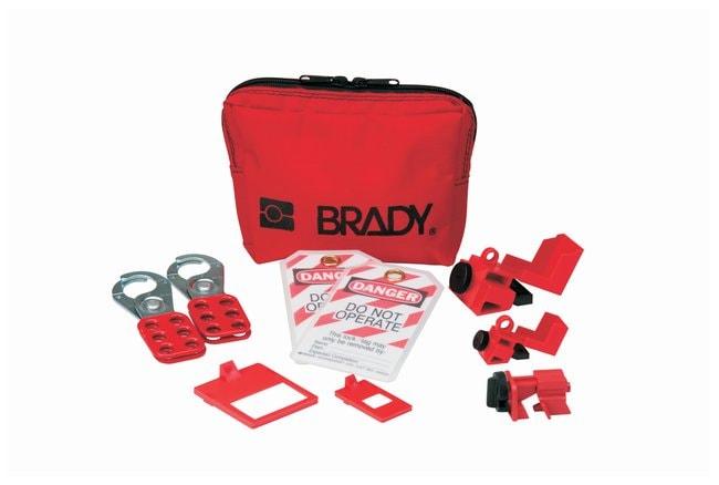 Brady Personal Breaker Lockout Pouch Nylon; 2 in. x 7.5 in. x 4.75 in.:Gloves,