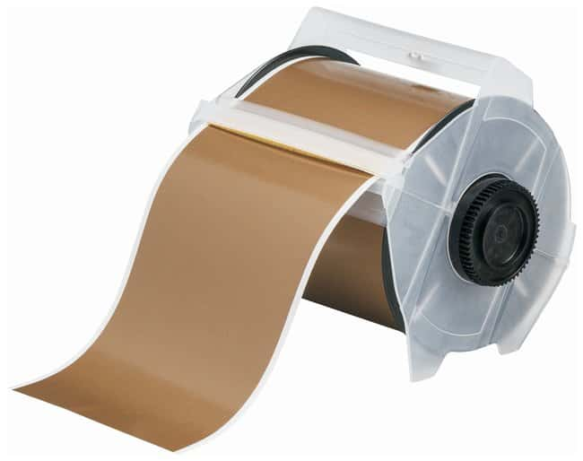 Brady GlobalMark Indoor/Outdoor Grade Vinyl (B-595) Tapes, Gold Label width: