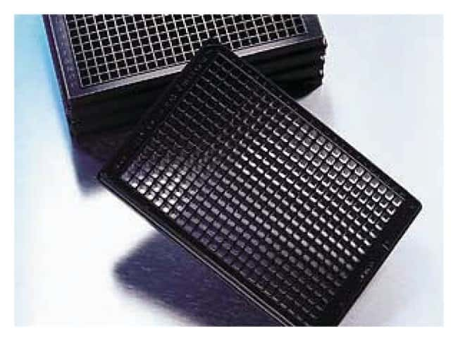 Corning™ 384-Well Optical Imaging Microplates TC treated; Black/clear bottom; With generic barcode products