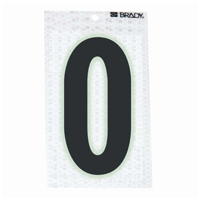 Brady Glow-In-The-Dark/Ultra Reflective Letter: O Character Height: 7.62cm