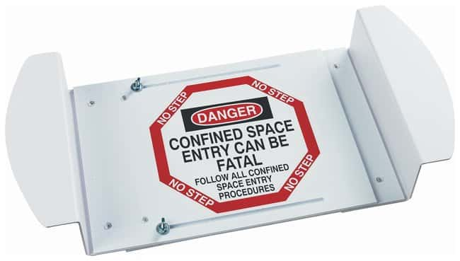 Brady Manhole Cover: CONFINED SPACE ENTRY CAN BE FATAL FOLLOW ALL CONFINED