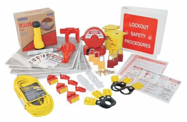 Brady Maintenance Station Parts maintenance; 1/Kit:Gloves, Glasses and