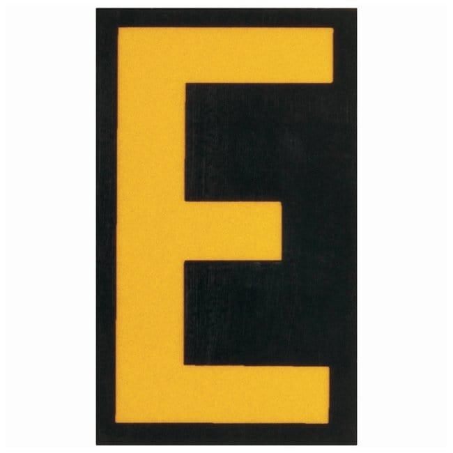 Brady Bradylite Ultra Reflective Letter: E Text legend: E:Gloves, Glasses