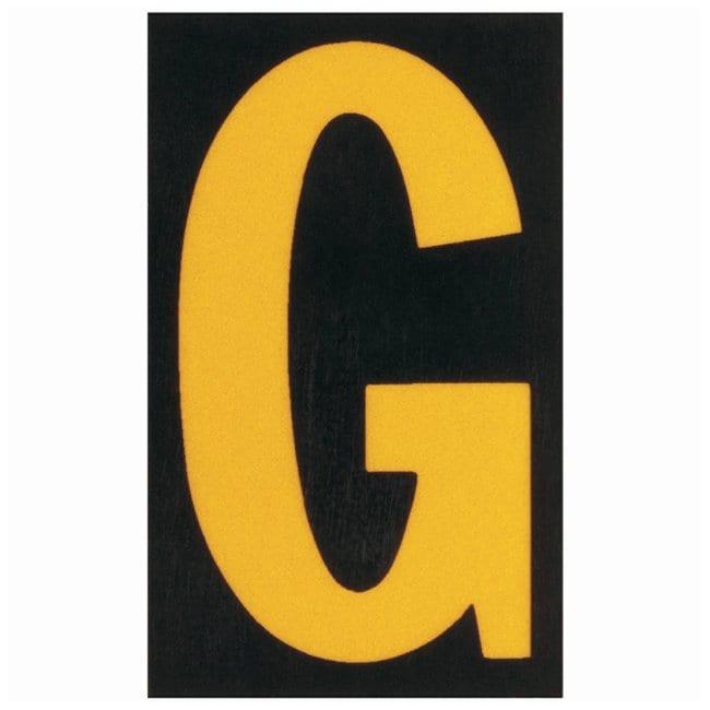 Brady Bradylite Ultra Reflective Letter: G Text legend: G:Gloves, Glasses