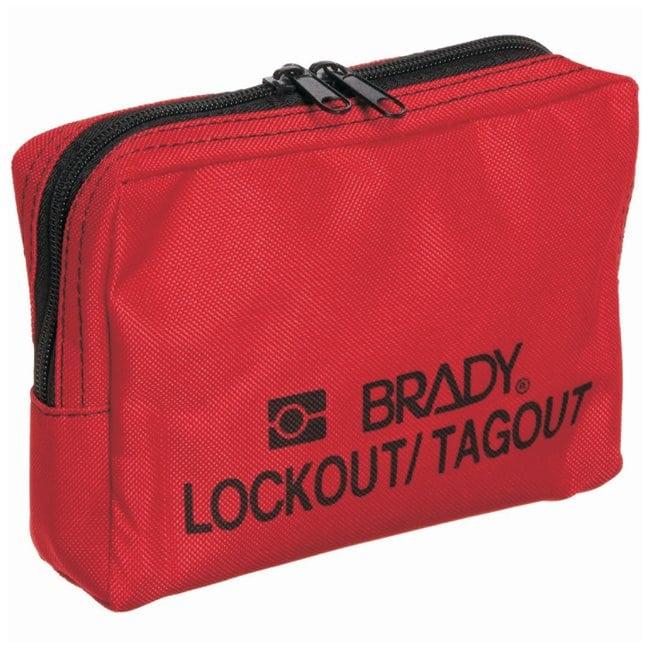Brady Lockout Belt Pouch Nylon; 2 in. x 7.5 in. x 4.75 in.:Gloves, Glasses