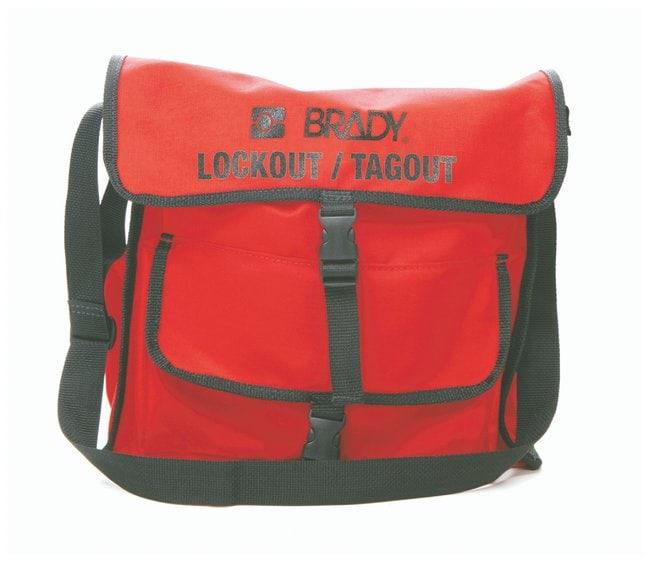 Brady Lockout Satchel Nylon; 2 in. x 7.5 in. x 4.75 in.:Gloves, Glasses
