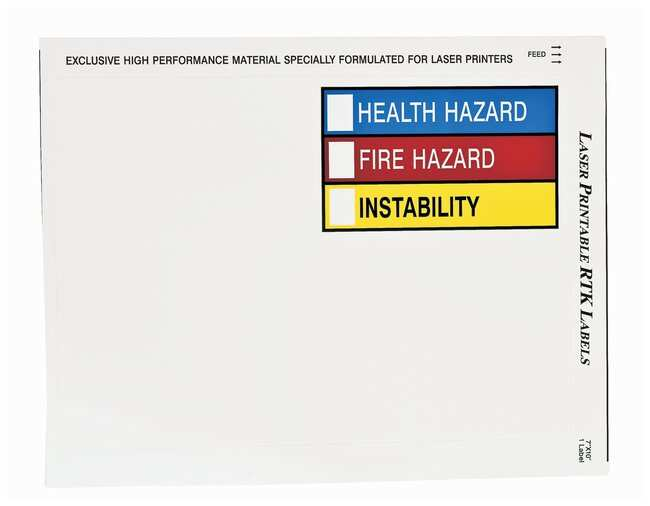 Brady RTK Pictogram Color Bar Style Labels:Gloves, Glasses and Safety:Facility