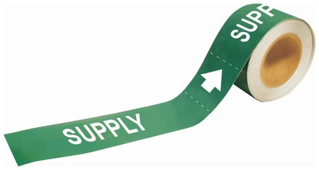 Brady Self-Sticking Pipe Marker Labels: SUPPLY:Gloves, Glasses and Safety:Facility