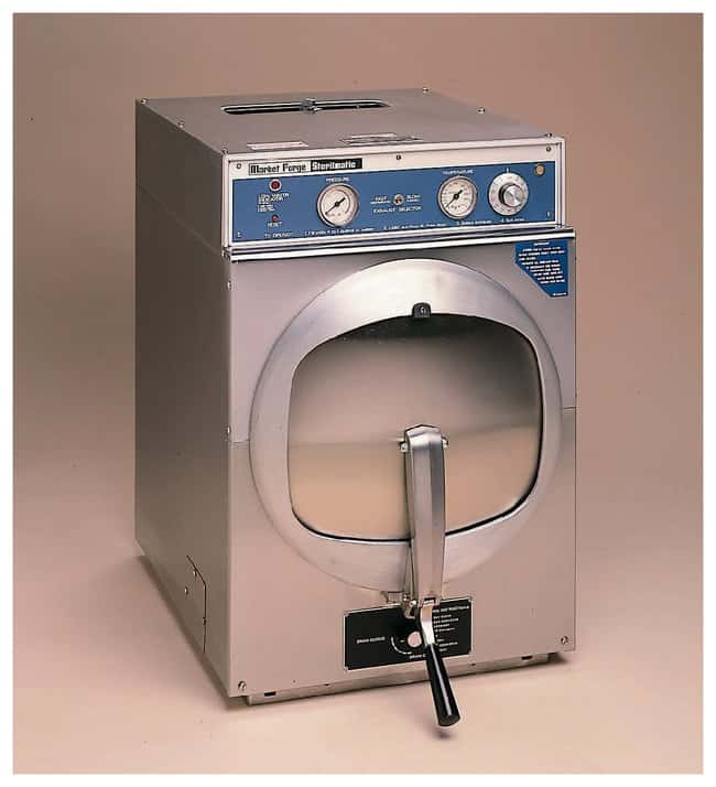 Market Forge Sterilmatic Steam Pressure Adjustable Temperature Sterilizers