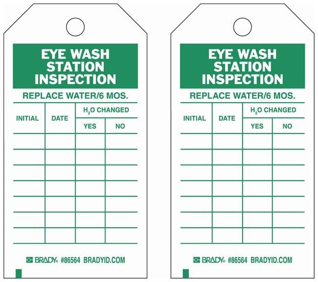 Excel Templates: Eyewash Station Maintenance Log