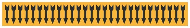 Brady Semiconductor and Chemical Pipe Markers: (arrow):Gloves, Glasses