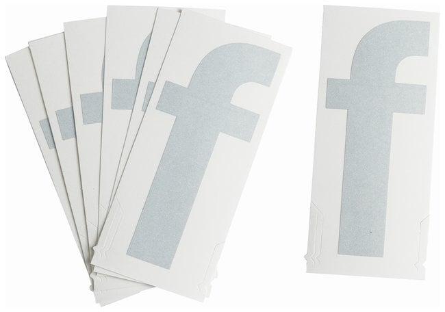 Brady Reflective Quik-Lite Ten Packs - Printed Letter Lower Case: f:Gloves,