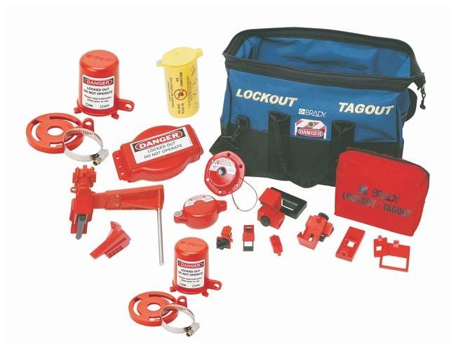 Brady Combination Lockout Duffel Kit Electrical & mechanical risk lockouts;