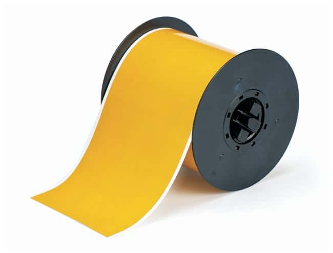Brady™ BBP31 Hi-Performance Polyester Tapes - Ochre Width: 101.6mm (4 in.) Brady™ BBP31 Hi-Performance Polyester Tapes - Ochre